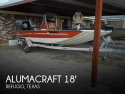2017 Alumacraft Bay 1860 Boat