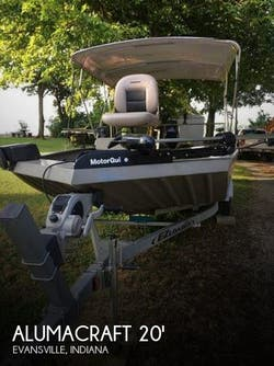 2013 Alumacraft  MV2072 AW SC