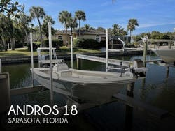 2019 Andros Backwater 18 Skiff
